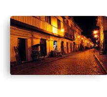 Calle Crisologo Canvas Print