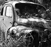 Renault 4 CV - Dauphine by AbsintheFairy
