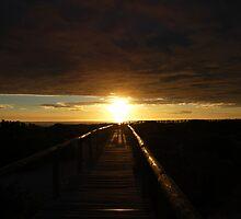 Blinding Sunrise by rabeeker