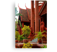 The National Museum II - Phnom Penh, Cambodia. Canvas Print