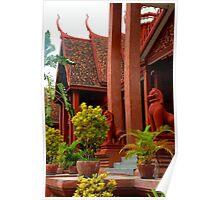 The National Museum II - Phnom Penh, Cambodia. Poster