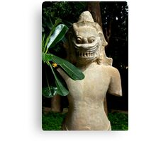 The Khmer Statue - Phnom Penh, Cambodia. Canvas Print