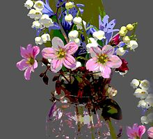 Spring Flowers Bouquet by rumisw
