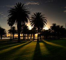 Sundown Riverside Drive Perth by GerryMac