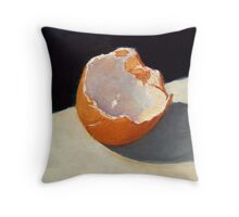 Egg Shell Throw Pillow