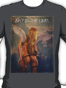 Sky is the limit girl wings T-Shirt