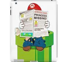 Mario on the Warp Pipe iPad Case/Skin