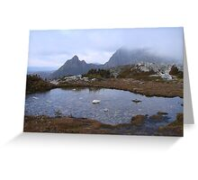 Cradle Mountain - 30 Minutes Past Marions Peak Lookout Greeting Card