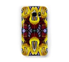 Posterized Flowers Samsung Galaxy Case/Skin