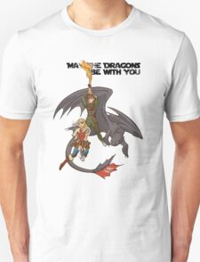 May the Dragons Be With You T-Shirt