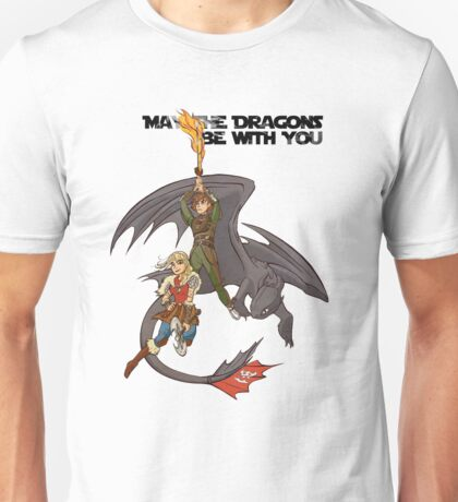 May the Dragons Be With You Unisex T-Shirt