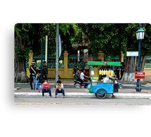 Streets of the Capital - Phnom Penh, Cambodia.  Canvas Print