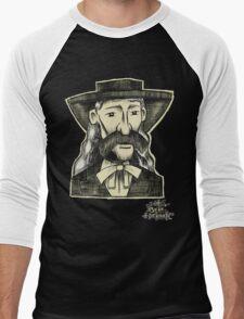 Wild Bill Hickock. Men's Baseball ¾ T-Shirt
