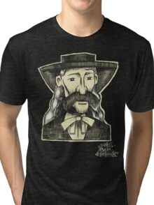 Wild Bill Hickock. Tri-blend T-Shirt