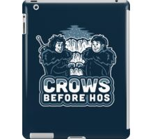 Crows before Hos iPad Case/Skin