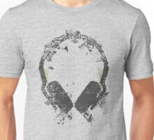 Art Headphones Unisex T-Shirt