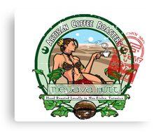 The Java Hutt Canvas Print
