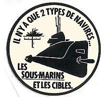 submarine Photographic Print