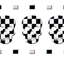 Ska Skulls by rlbellamy