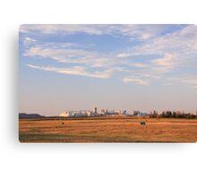 In the prairies Canvas Print