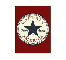 CAPTAIN AMERICA - ALL STAR Art Print