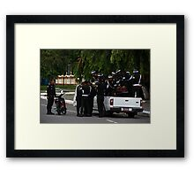 Streets of the Capital II - Phnom Penh, Cambodia.  Framed Print