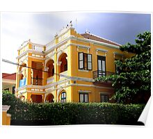 The Yellow House - Phnom Penh, Cambodia. Poster
