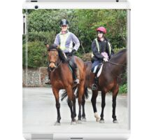 """"""" A great way to travel"""" iPad Case/Skin"""