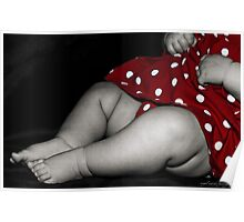 chubby baby legs Poster