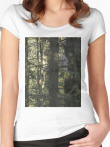 Possessing the pine Women's Fitted Scoop T-Shirt