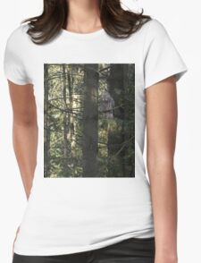 Possessing the pine Womens Fitted T-Shirt
