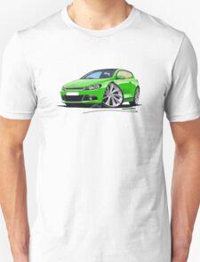 VW Scirocco (Mk3) Green T-Shirt