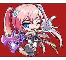 Angelic Buster Photographic Print