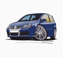 VW Golf R32 (Mk5) Blue by Richard Yeomans