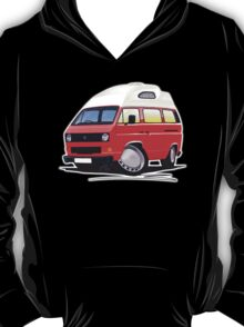 VW T25 / T3 (High Top) Red T-Shirt
