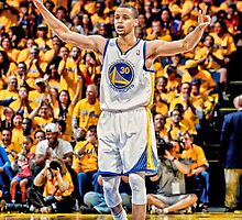 Stephen Curry Poster by Enriic7