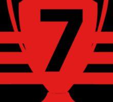 AC Milan 7 times Sticker