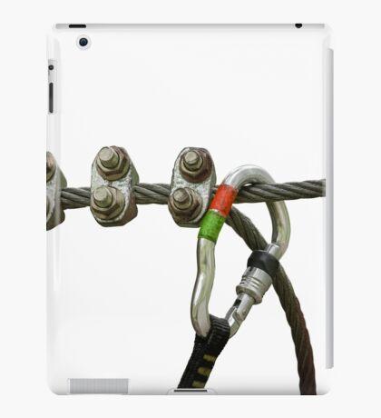 Isolated Climbing Carabiner iPad Case/Skin