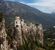 Guadalest Spain Costa Blanca by leightoncollins