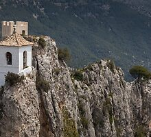 Guadalest Costa Blanca Spain by Leighton Collins