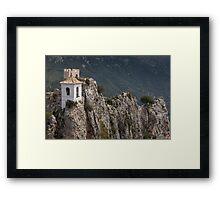Guadalest Costa Blanca Spain Framed Print