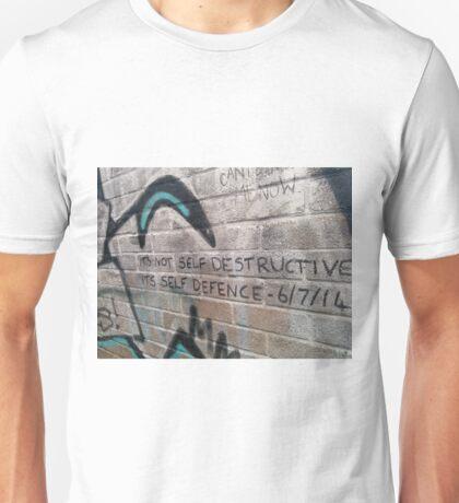 It's not self destructive - The Libertines Unisex T-Shirt