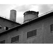 Cement Factory Photographic Print