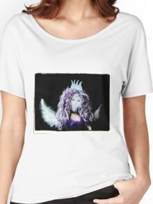 Violet angel doll Women's Relaxed Fit T-Shirt
