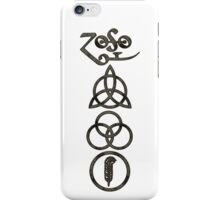 TRIQUETRA - the storm V iPhone Case/Skin