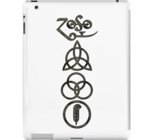 TRIQUETRA - the storm V iPad Case/Skin