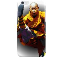 Shaolin Monk -Waaaaaaaaaaaaaah ! iPhone Case/Skin