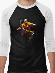Shaolin Monk -Waaaaaaaaaaaaaah ! Men's Baseball ¾ T-Shirt