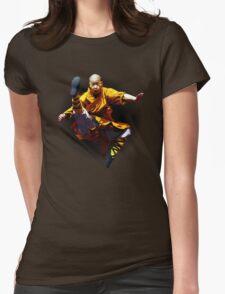 Shaolin Monk -Waaaaaaaaaaaaaah ! Womens Fitted T-Shirt