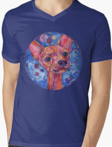 Watchdog (Chihuahua) Mens V-Neck T-Shirt